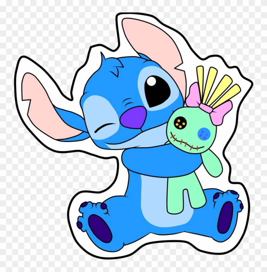 Stitch clipart scrump. Free png download and