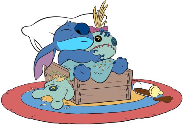 Stitch clipart scrump. Lilo and clip art