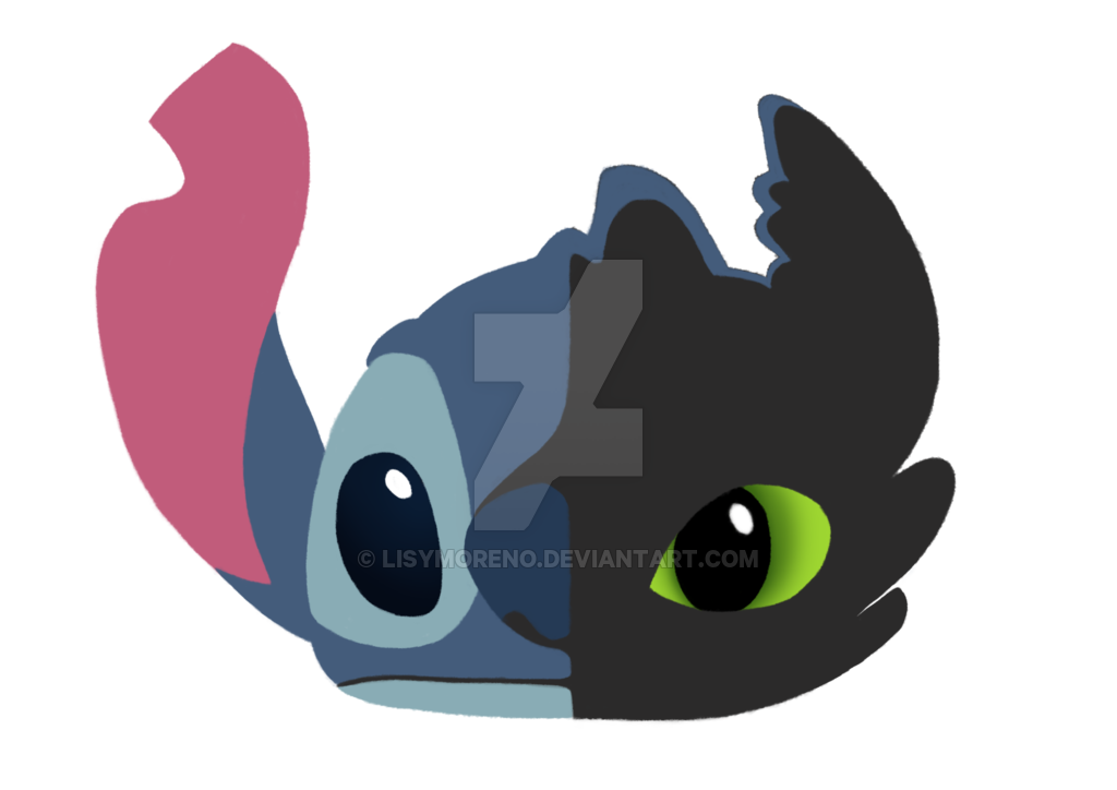 Stitch clipart stich. And toothless by lisymoreno