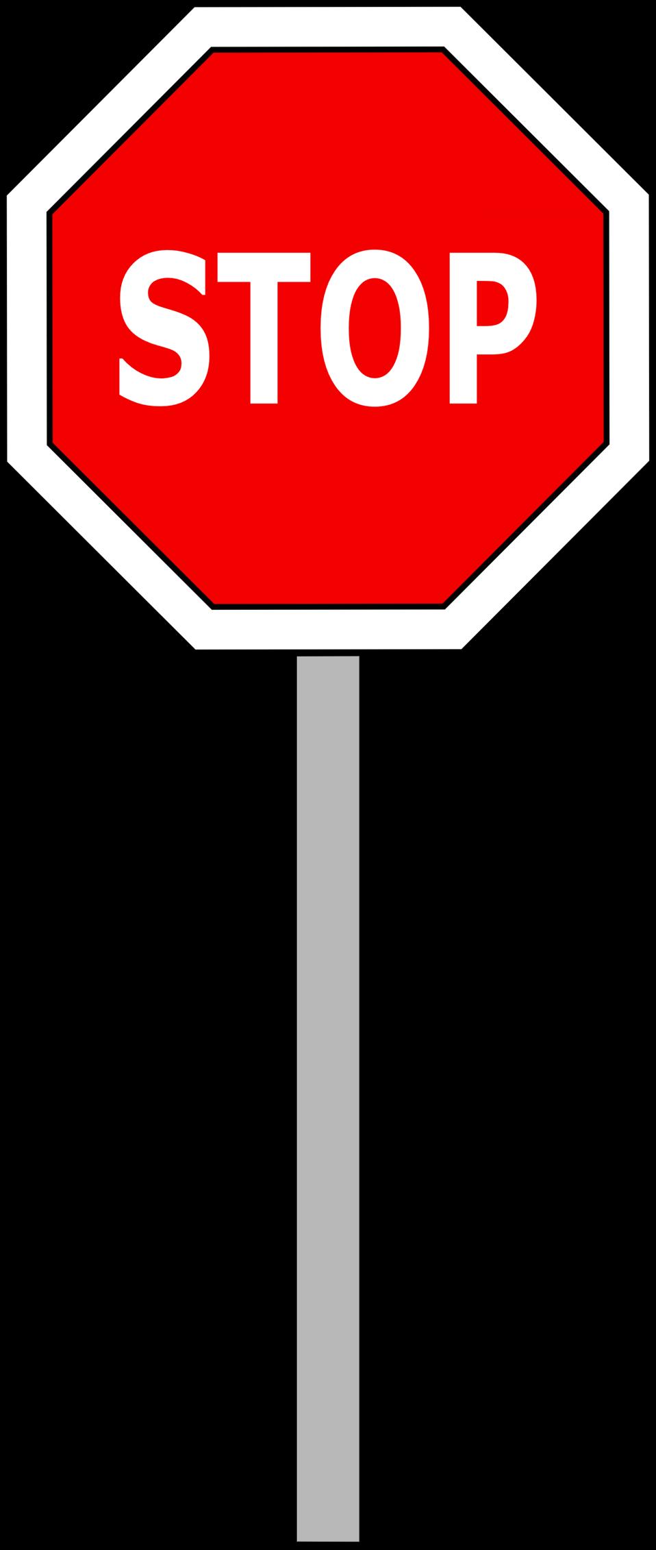 Public domain clip art. Stop clipart