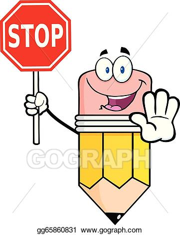 Stop clipart. Sign clip art royalty