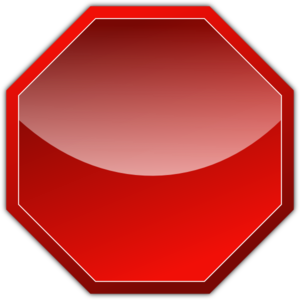 Stop sign clip art. At clker com vector