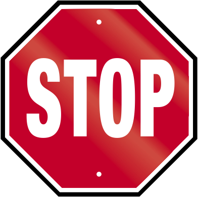 Stop sign clip art. Free download on