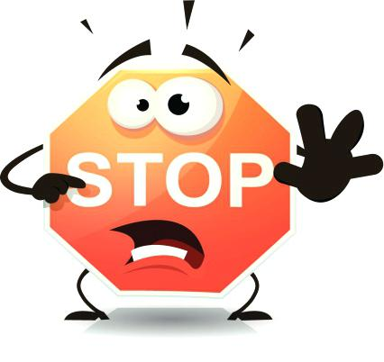 Stop sign clip art. Wonderful stunning outline fee