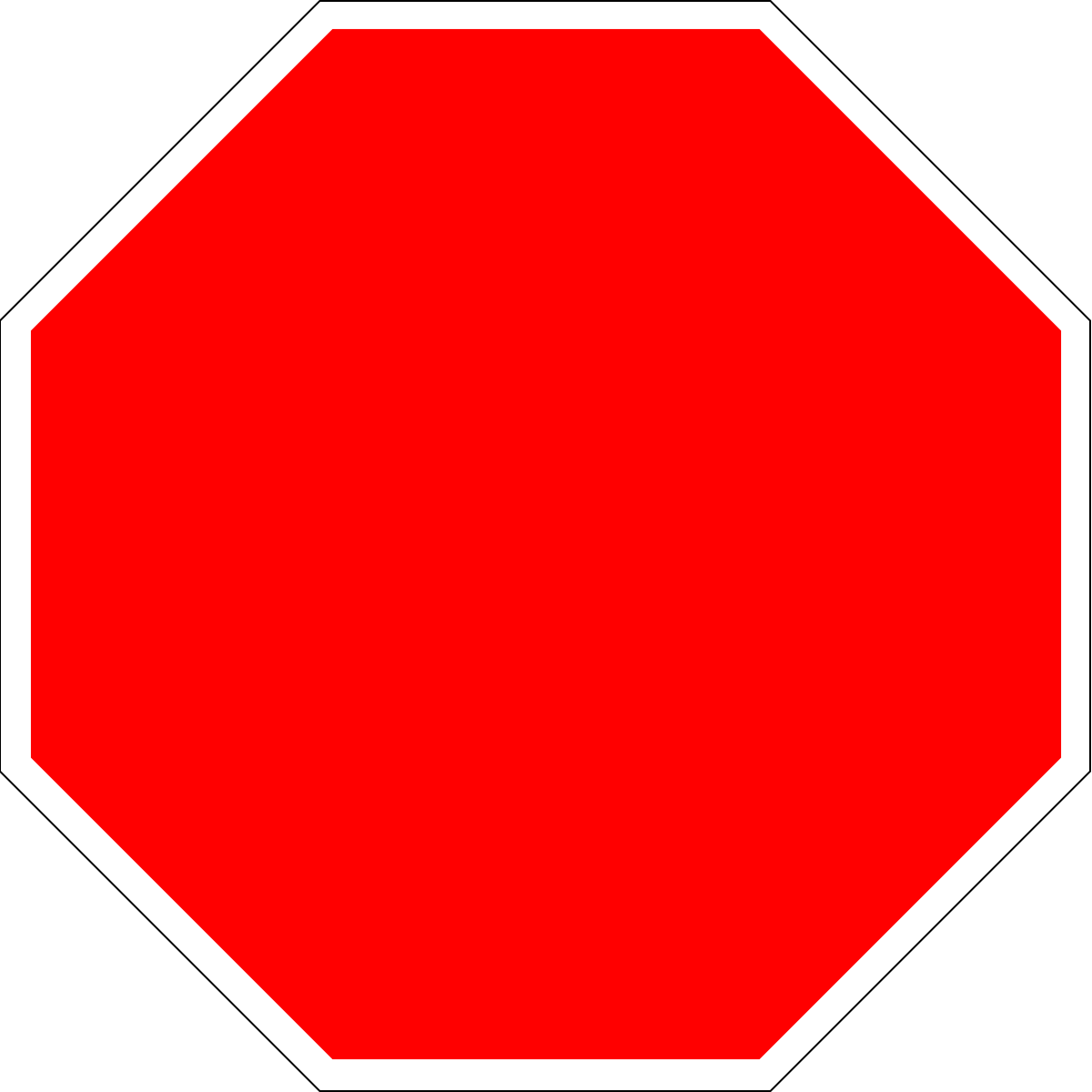Stop sign clip art holding. Analyzing symbols wikiversity