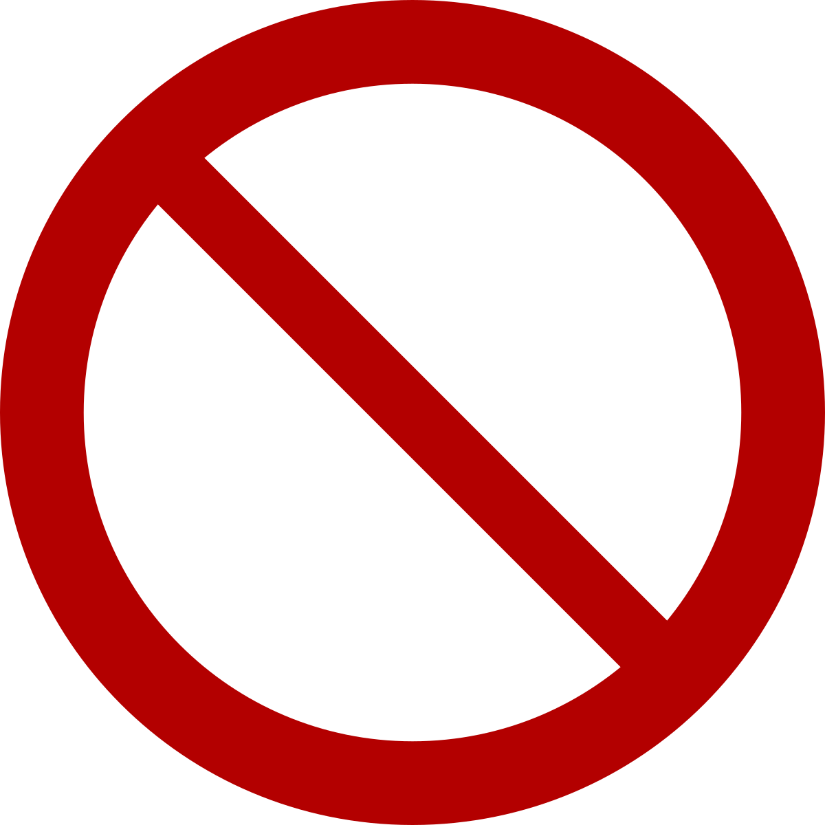 Stop sign clip art white. No symbol wikipedia