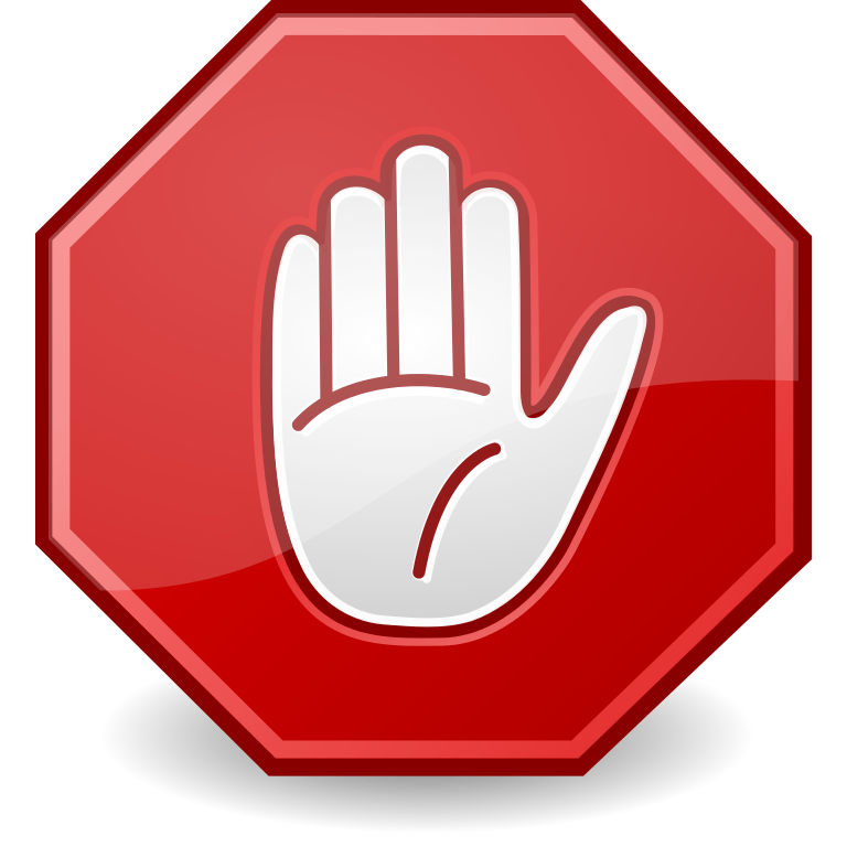 File dialog hand svg. Stop sign clip art white