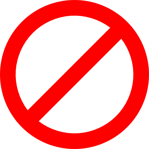 Stop sign clip art white. Before they were red