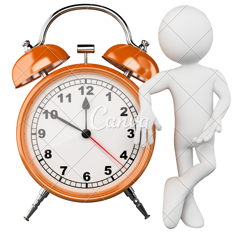Stopwatch clipart 1 minute.  d man with