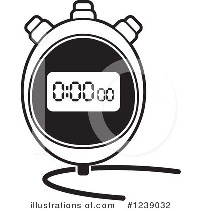Illustration by lal perera. Stopwatch clipart