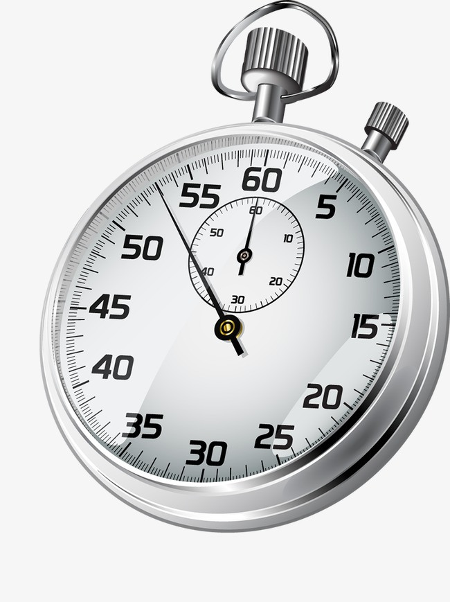 Stopwatch clipart. Cartoon timer png image