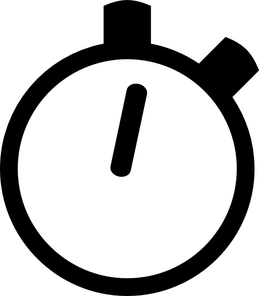 Stopwatch animated