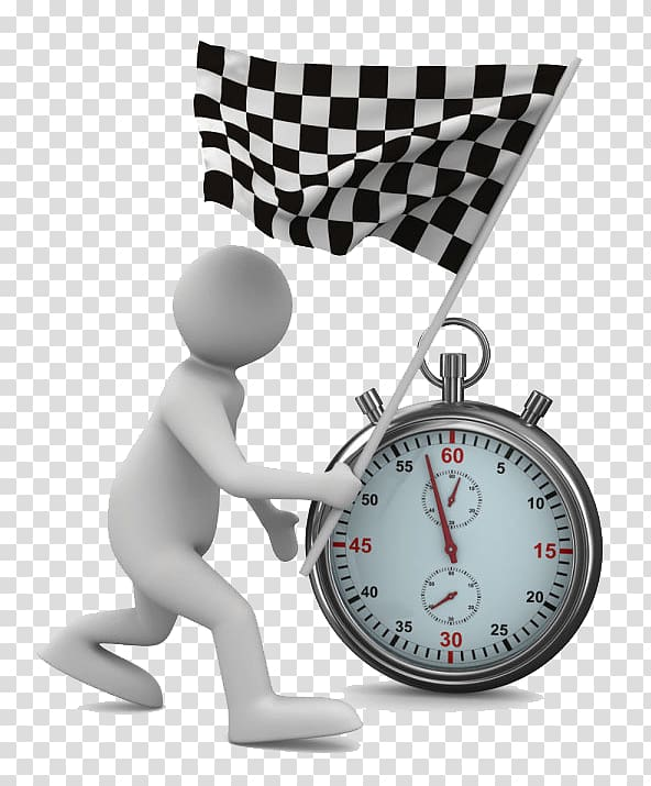 Stopwatch clipart racing. Person holding white and