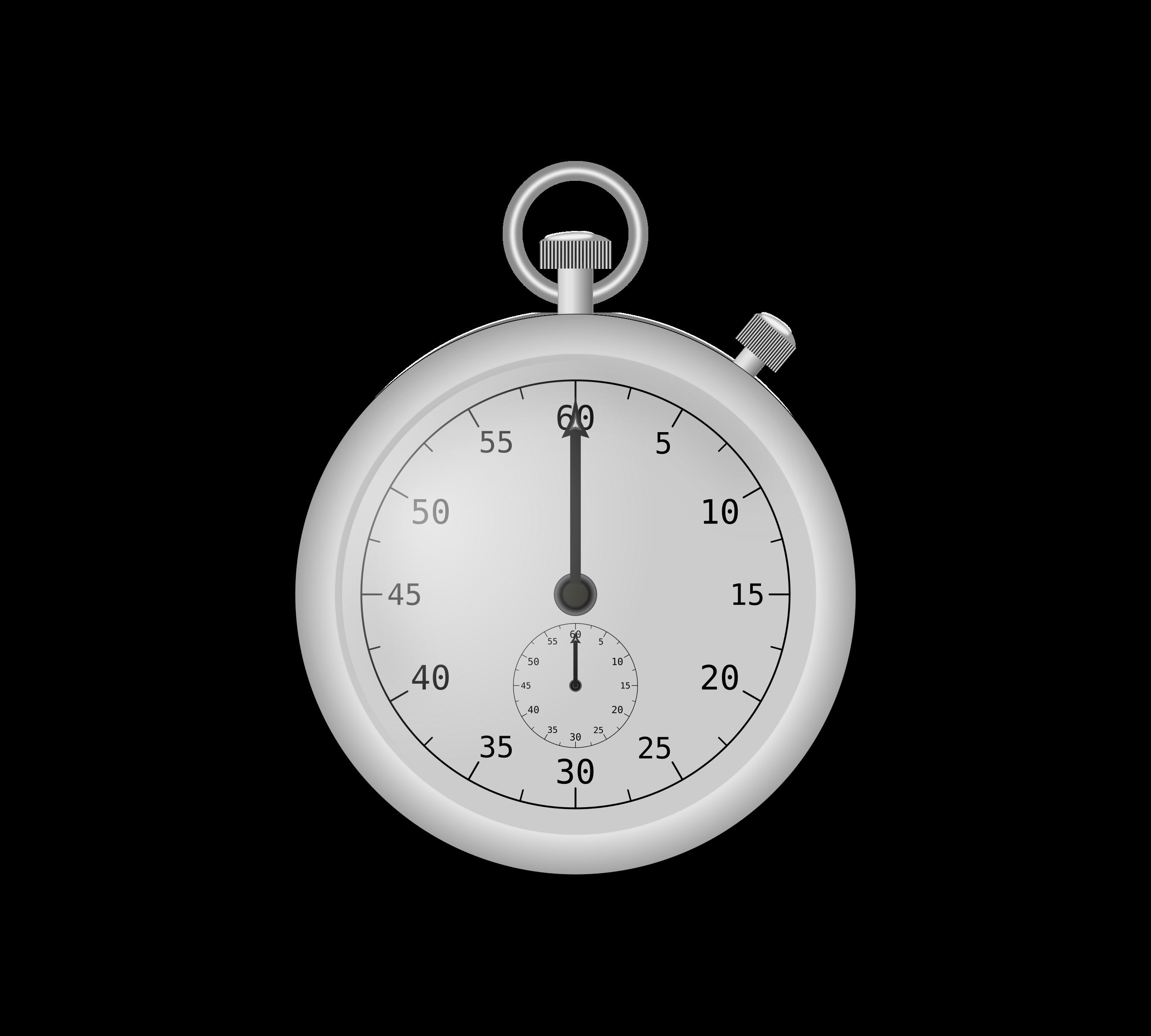 Stopwatch clipart svg.