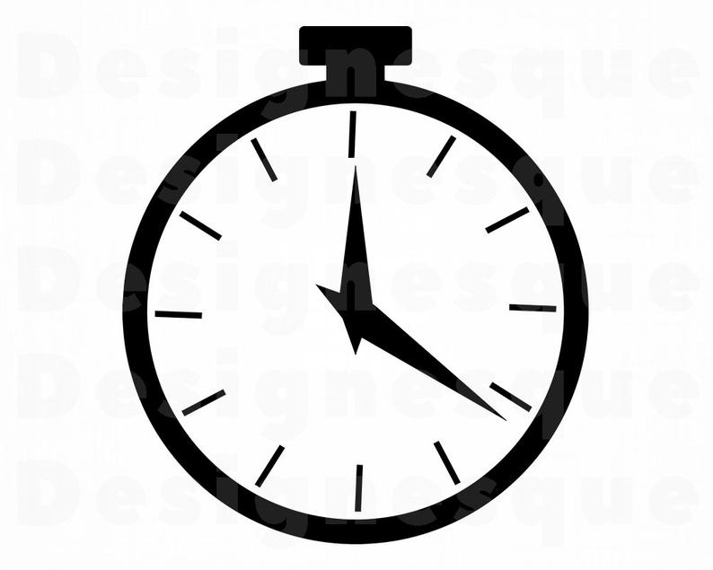 Time timer files for. Stopwatch clipart svg