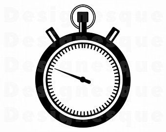 Stopwatch clipart svg. Etsy