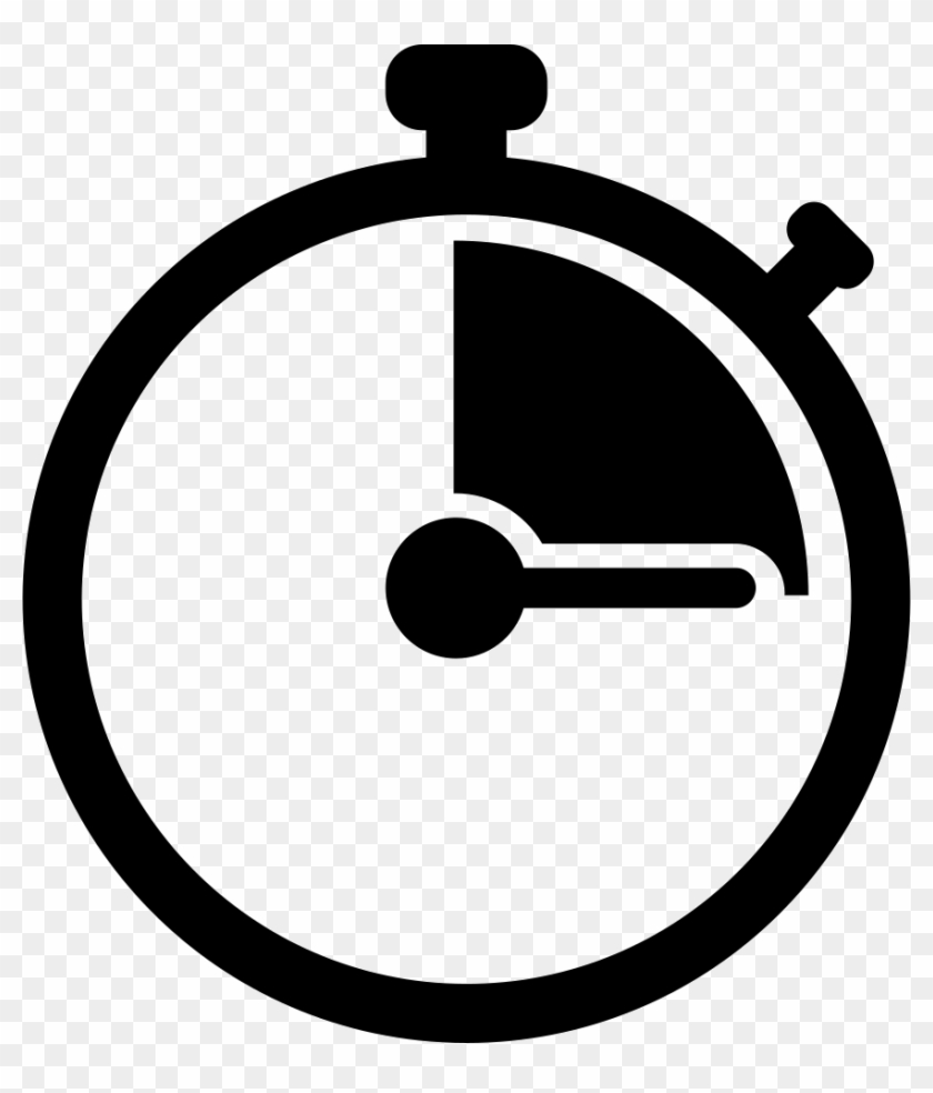 Png icon free transparent. Stopwatch clipart svg