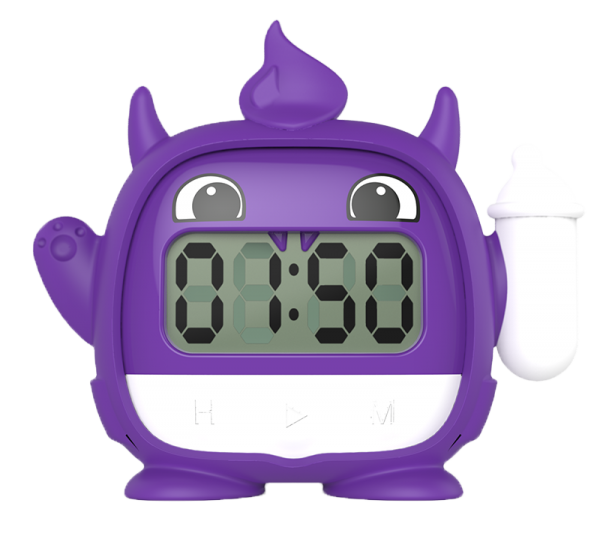 Milk monster the timer. Track clipart stopwatch