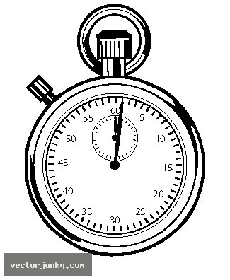 Download clip art library. Stopwatch clipart vector
