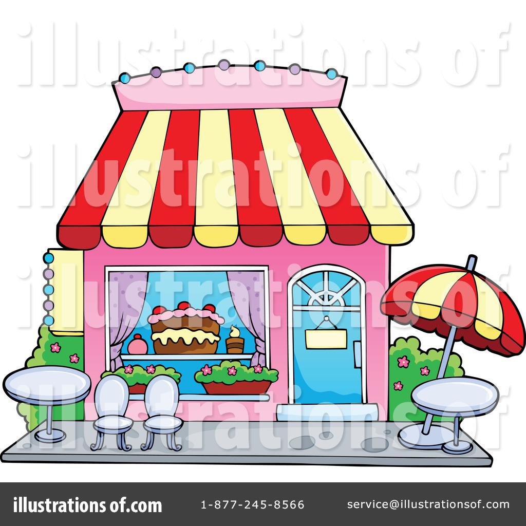 Bakery clipart store. Illustration by visekart royaltyfree