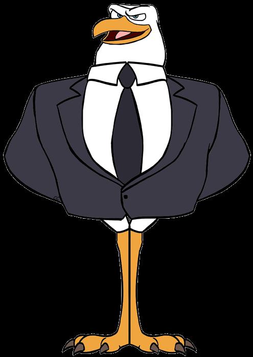 Stork transparent
