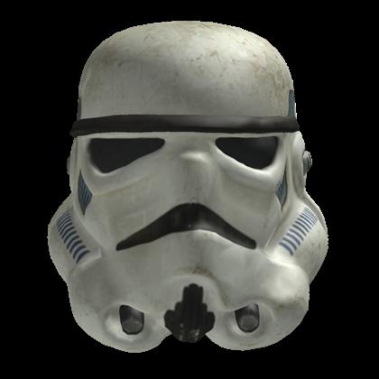 Stormtrooper mesh roblox. Storm trooper helmet png