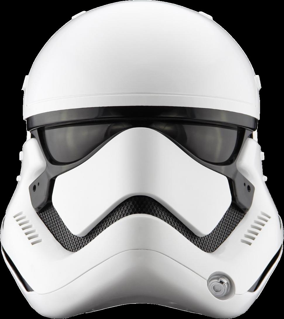 Star wars episode vii. Storm trooper helmet png