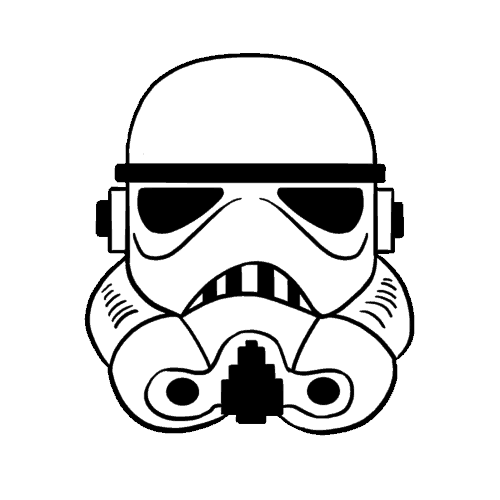 Stormtrooper helmet png. Drawing vast