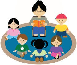 Storytime clipart. Naples area storytimes neafamily