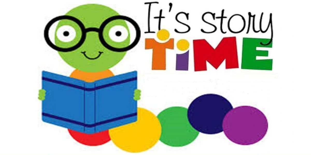 New story format schedule. Storytime clipart arrival time