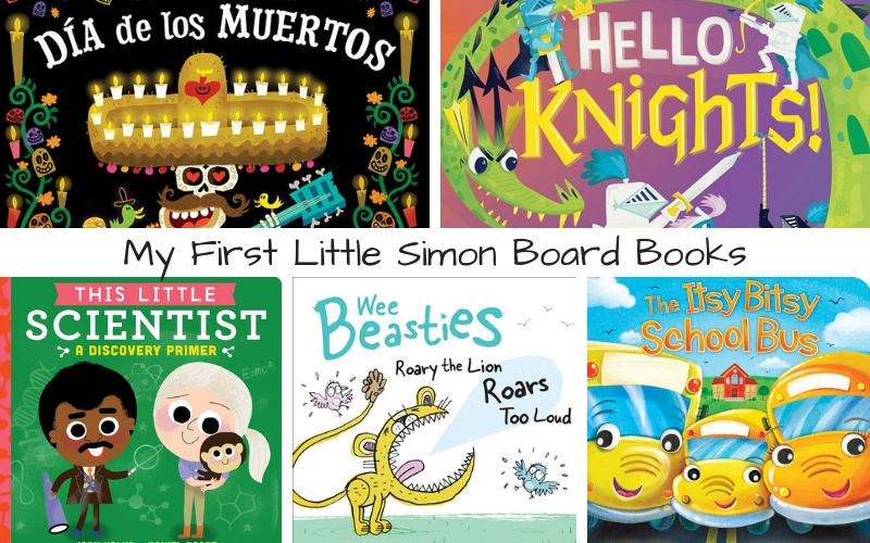 My first little simon. Storytime clipart board book