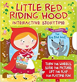 Storytime clipart board book. Little red riding hood