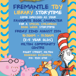 Storytime clipart book week. Children s fremantle library