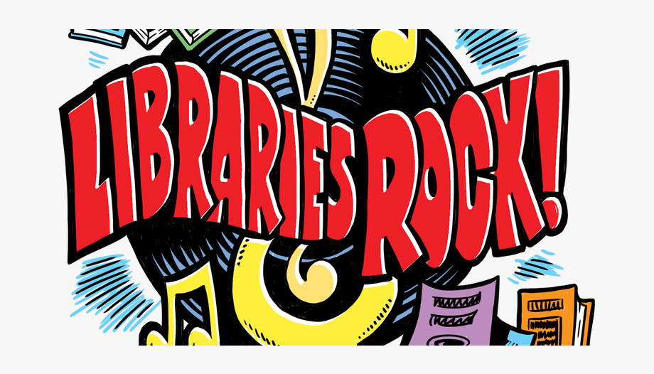 Libraries rock clip art. Storytime clipart bookmobile