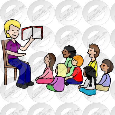 Storytime clipart classroom. Picture for therapy use