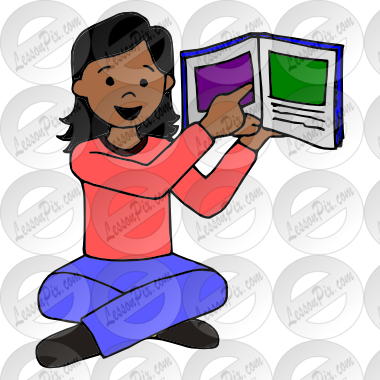 Picture for therapy use. Storytime clipart classroom