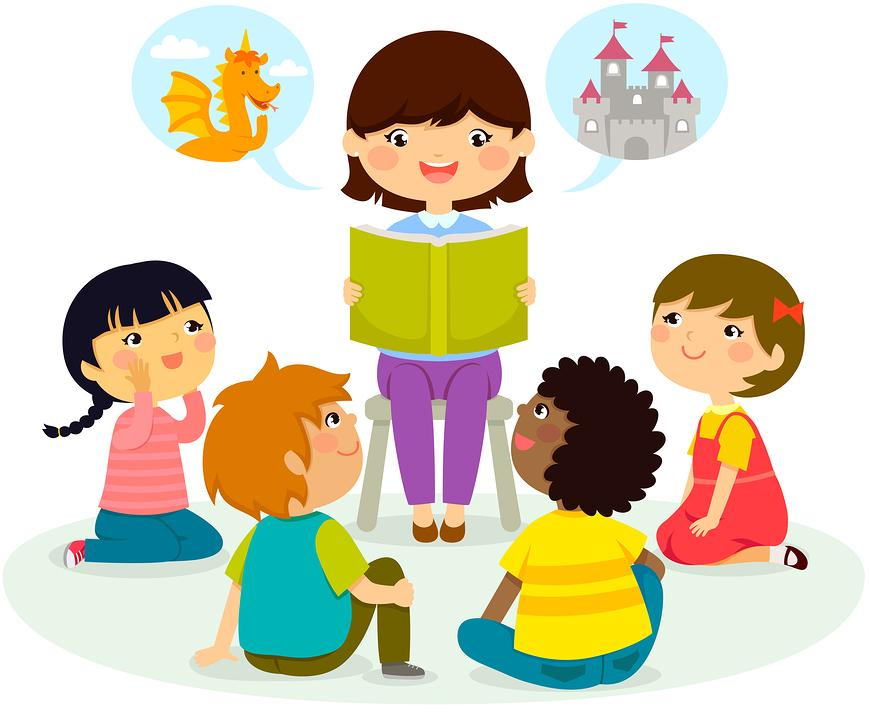 Storytime clipart guest reader. Preschool berks county public