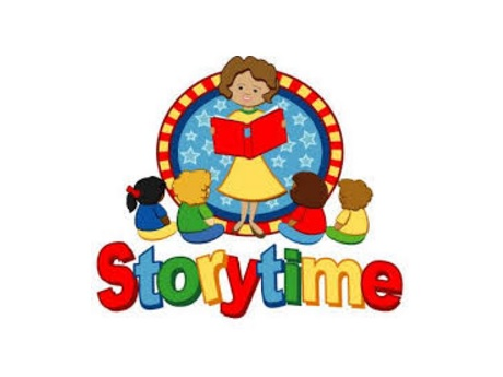 Hawaii state public library. Storytime clipart kids book club