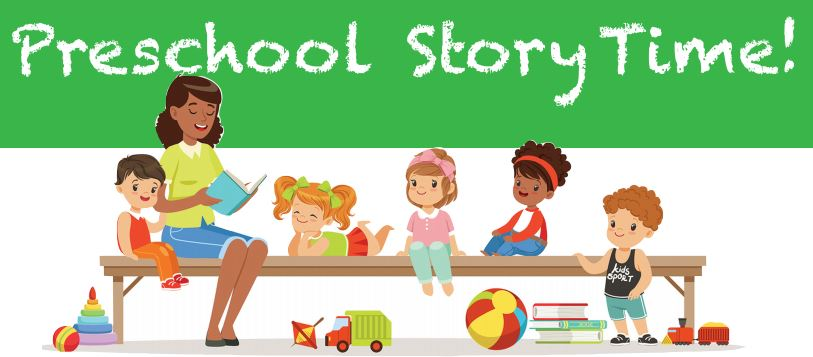 Storytime clipart learner. Preschool story time green
