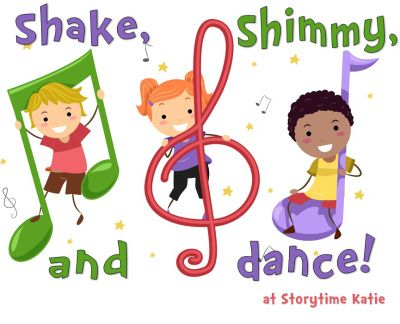 Storytime clipart learner. Shake shimmy dance katie