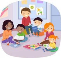 Family reading katy budget. Storytime clipart literacy night