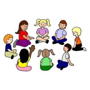 Circle free download best. Storytime clipart mat time
