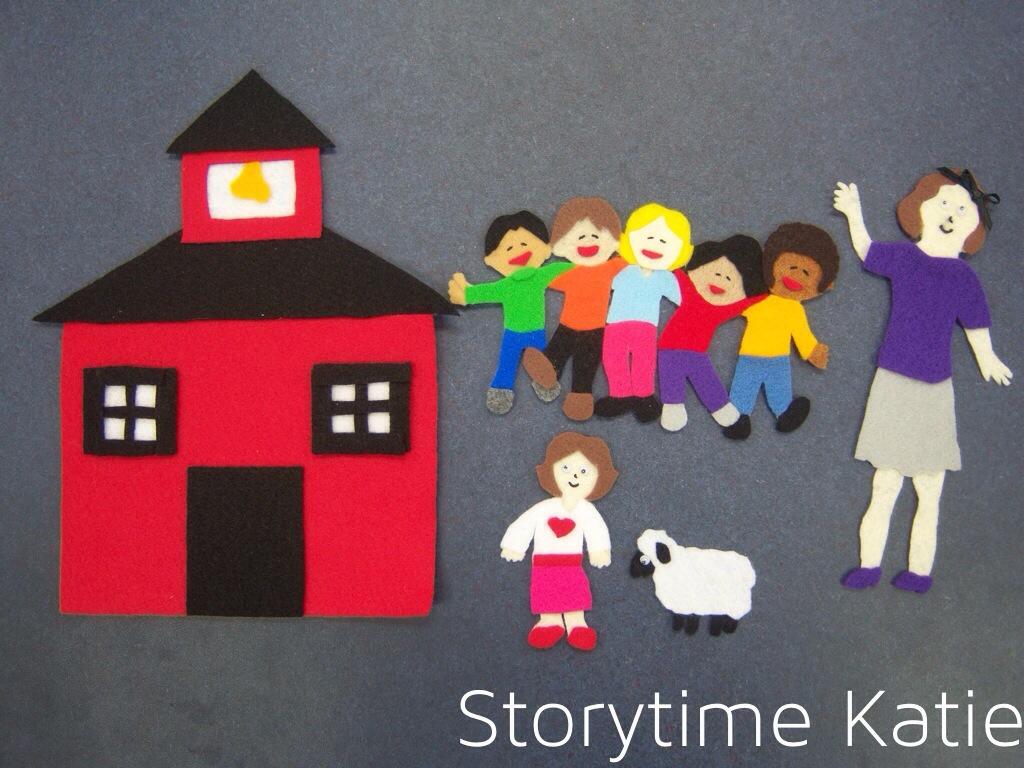 Clip art flannelboard mary. Storytime clipart nursery teacher