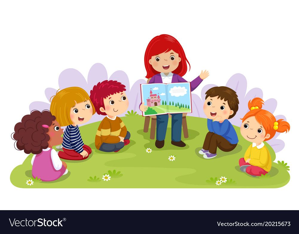 Pin by hassan woody. Storytime clipart nursery teacher