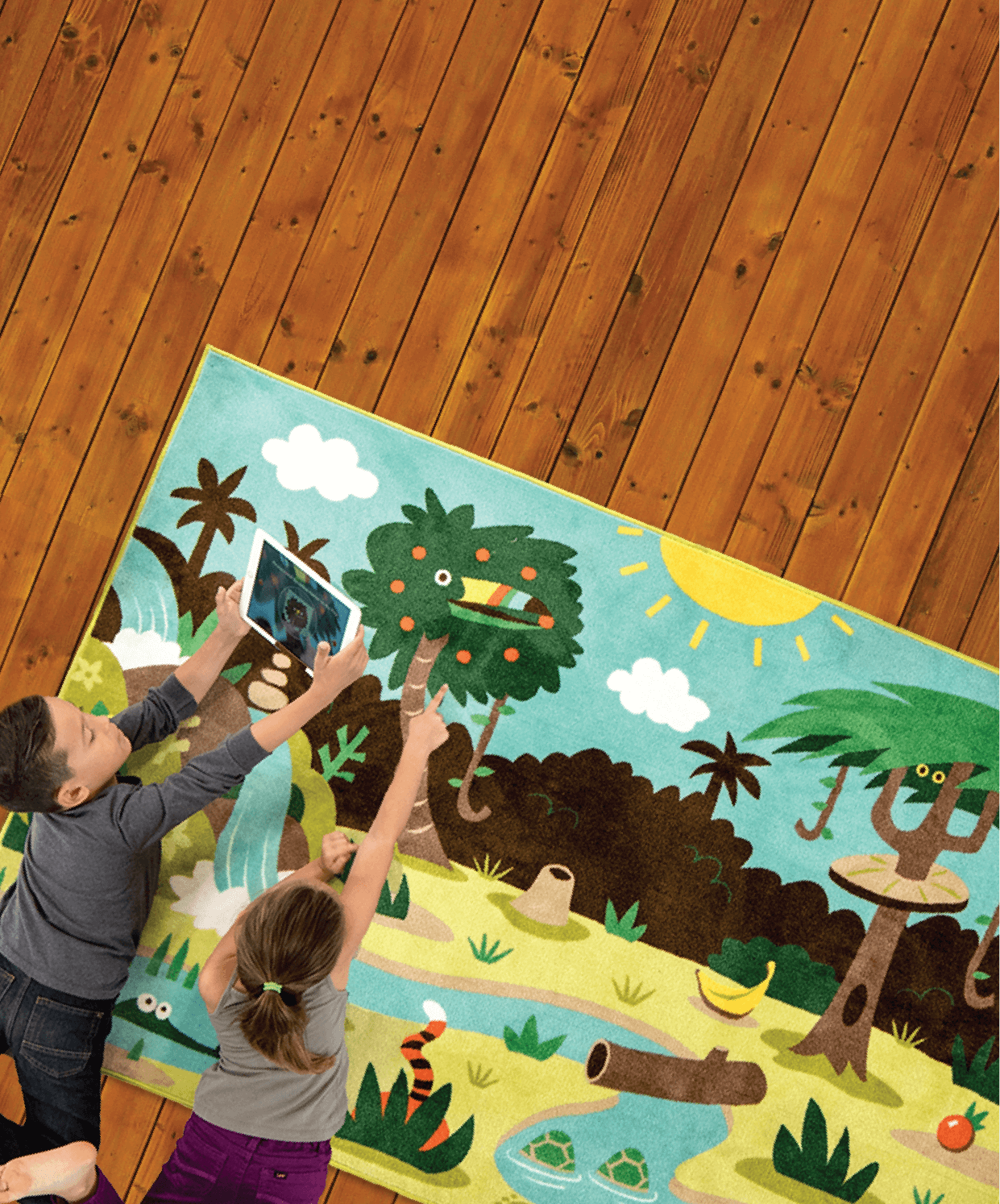 Storytime clipart rug time. Family story augmented reality