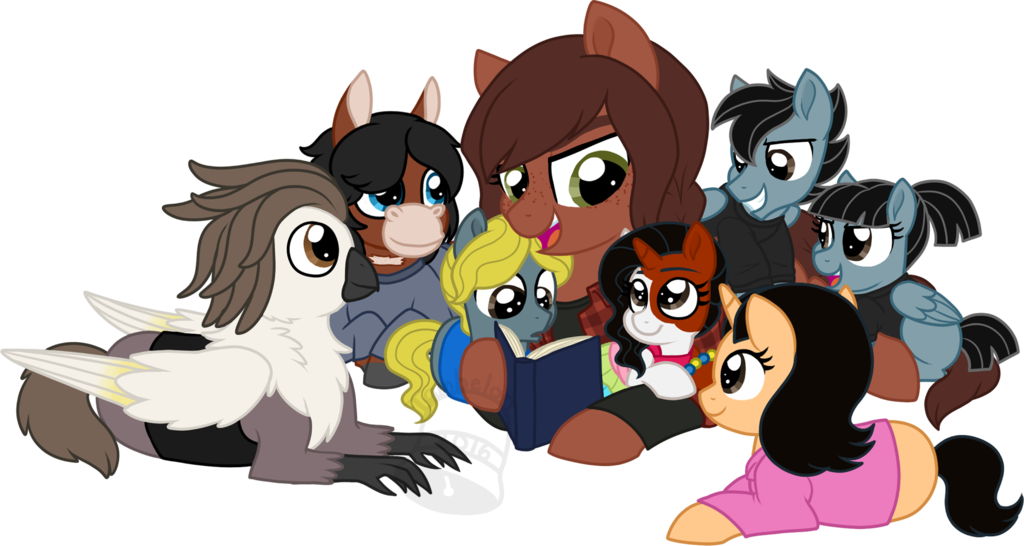 Mlp tlou twd for. Storytime clipart student help