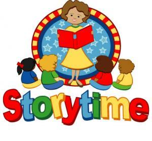 Storytime clipart told. Preschool oakland public library