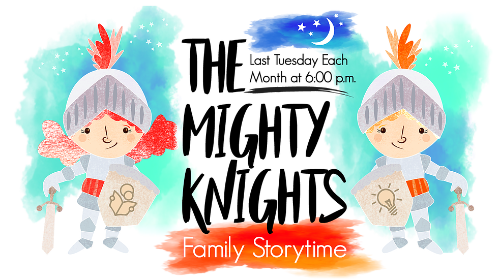 Storytime clipart told. The mighty knights family
