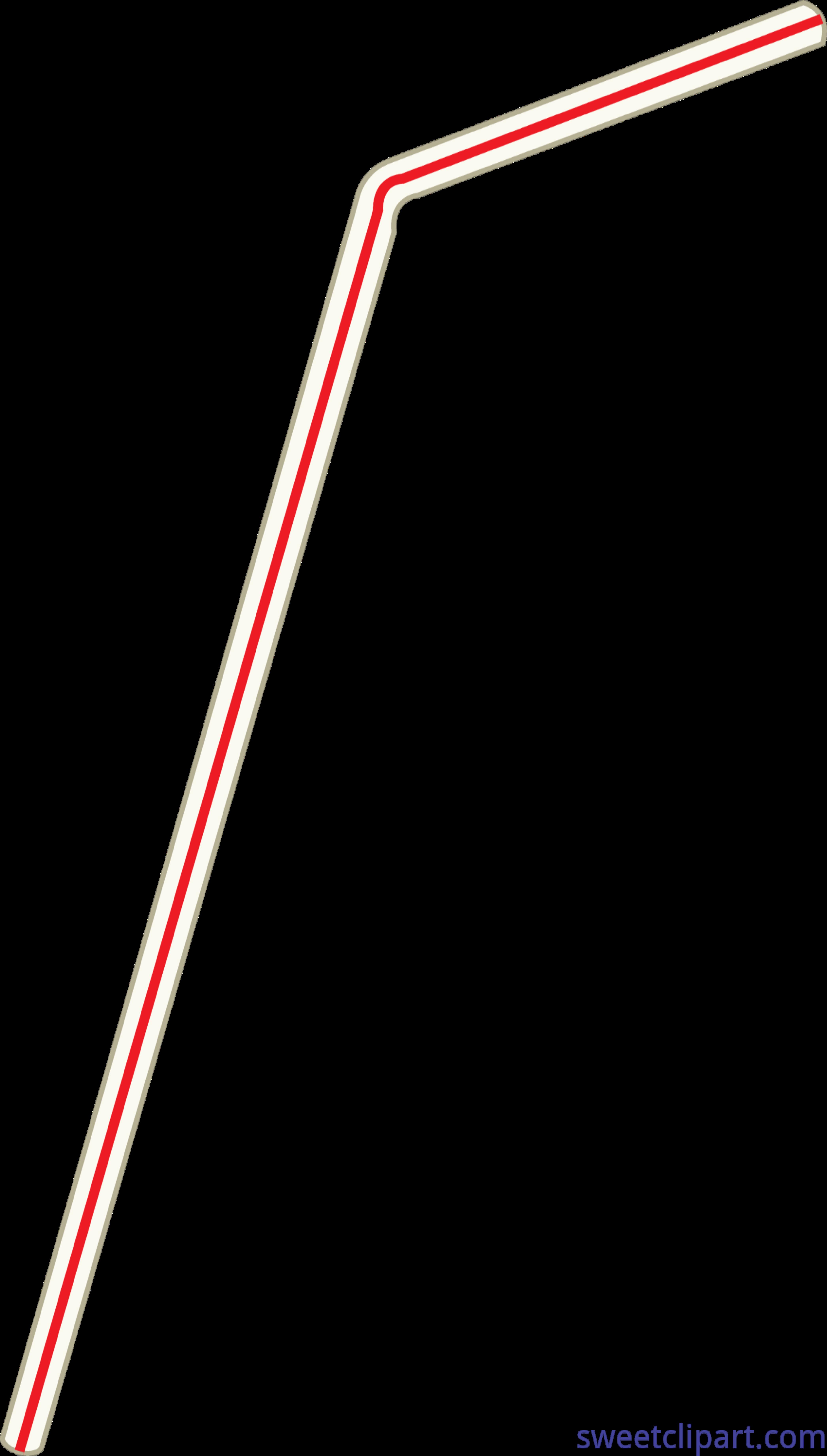 Clip art sweet. Straw clipart