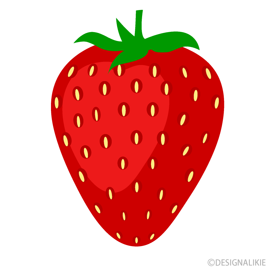 Fruit clipart strawberry. Free picture illustoon